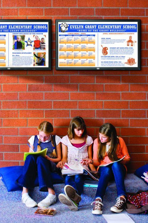 carteleria digital centros educativos