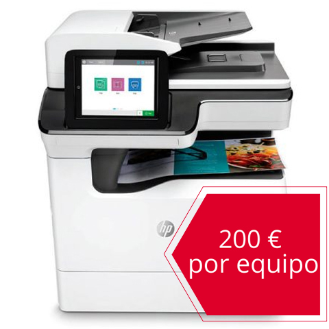 HP PageWide Managed Color MFP E77650dn