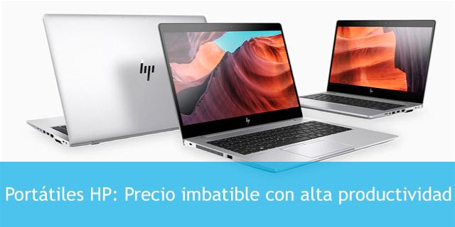 oferta en portátiles HP