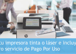pago por uso de impresoras